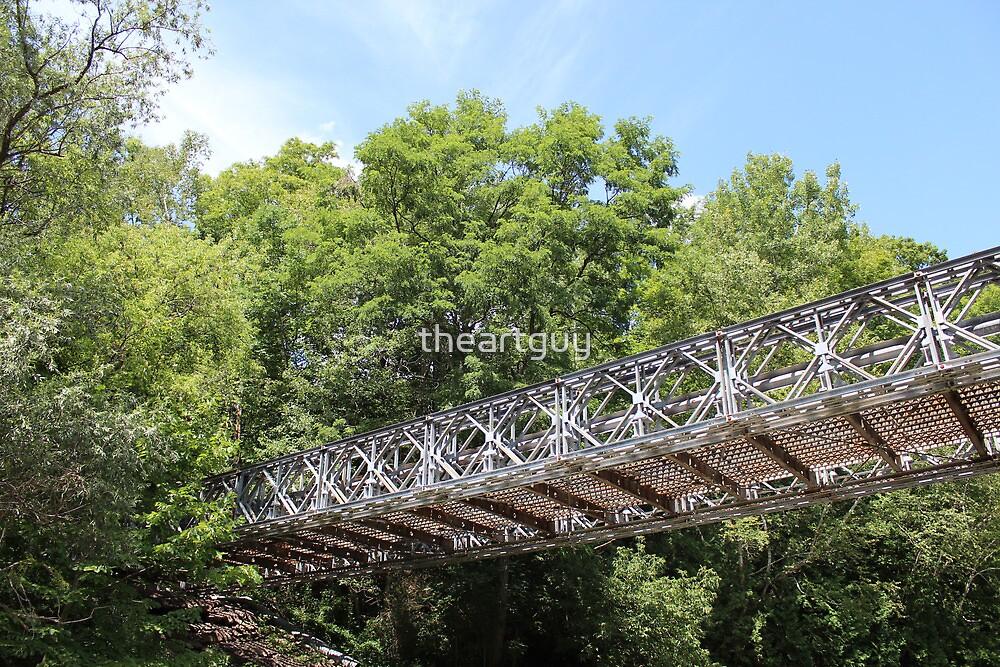 Metal Bridge by theartguy