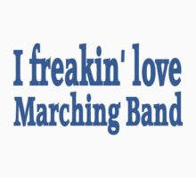 Marching Band Baby Tee