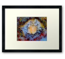 Too Much Television Framed Print