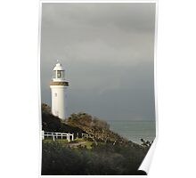 Light House at Norah Head Poster