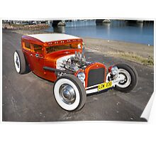 Matt's Retro Hot Rod Poster