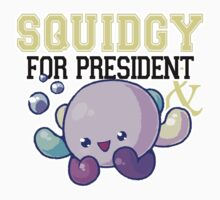 Squidgy for President Kids Clothes