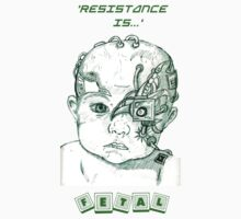 Star Trek - Borg Baby - Resistance is Fetal! by reslanh