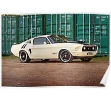 Ziggy's Hot Rods Ford Mustang Poster
