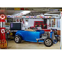 John's 1932 Ford Roadster Hot Rod Photographic Print