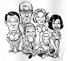 Vintage Dick Van Dyke Show Poster