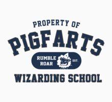 Starkid: Pigfarts wizarding school (blue) Kids Clothes
