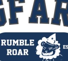 Starkid: Pigfarts wizarding school (blue) Sticker