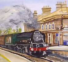 Tornado Through Chertsey Station by Carole Robins