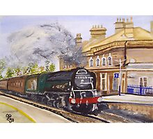 Tornado Through Chertsey Station Photographic Print