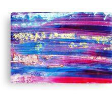 Blue Flash Canvas Print
