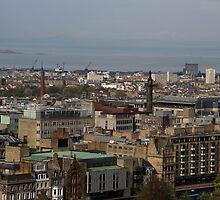 View of Edinburgh from the Castle by ashishagarwal74