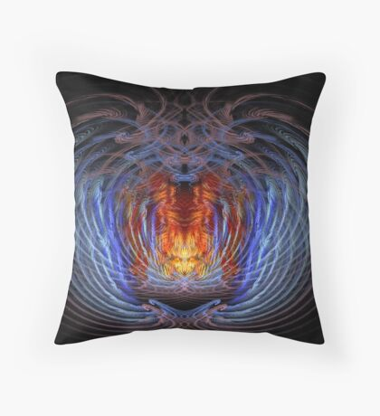 The Sly Fox Throw Pillow