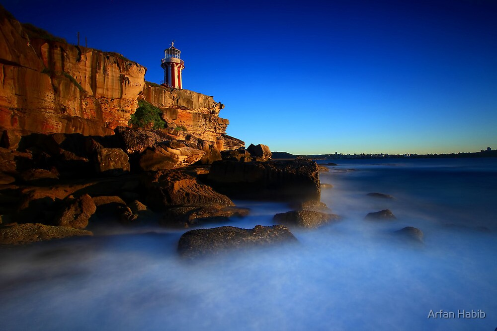 Hornby Lighthouse  by Arfan Habib