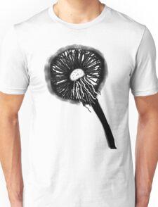 DANDELION BLACK  TEESHIRT.BABY  GROW/STICKER Unisex T-Shirt