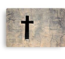 Cross, Recoleta Cemetery, Argentina Canvas Print