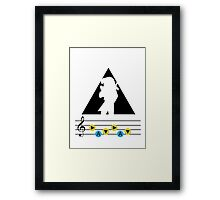 Legend of Zelda Ocarina of Time Shirt Framed Print