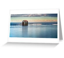 Merewether Ocean Baths - Pump house Greeting Card