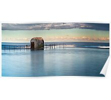 Merewether Ocean Baths - Pump house Poster