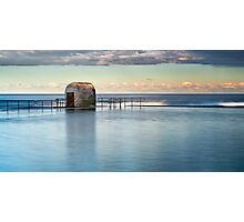 Merewether Ocean Baths - Pump house Photographic Print