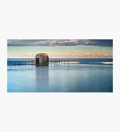Merewether Ocean Baths - Pump house Photographic Print