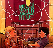 Would You 221 Be Mine? by BakerStBabes