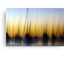 Matilda Bay Abstract Canvas Print