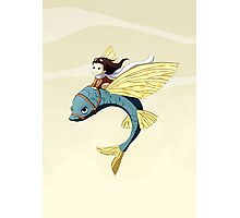 Flying Fish Photographic Print