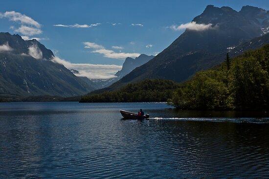 Summer on the lake by Frank Olsen