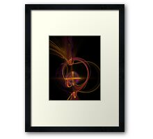 Projections Framed Print