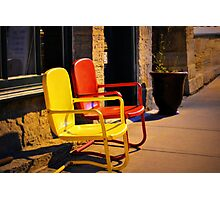 A Colorful Rest Photographic Print