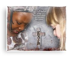 Hear in Heaven Canvas Print