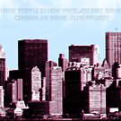 Those people in New York are not gonna change me none by Catherine O'Hagan