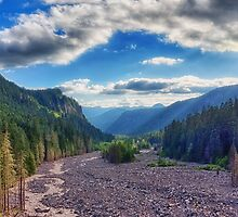 Mouth of Nisqually Glacier by Jason Butts