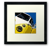 VW Splitscreen Framed Print