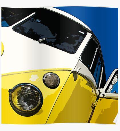 VW Splitscreen Poster
