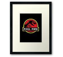 Pixel Park Framed Print