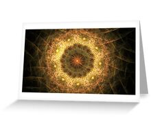 Cosmic Daisies Greeting Card