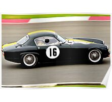 Lotus Elite No 16 Poster