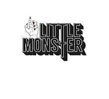 Little Monster Paws Up Photographic Print