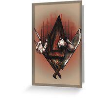 Red Pyramid Thing Greeting Card