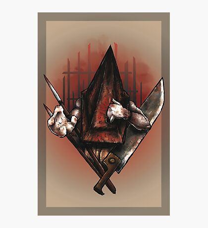 Red Pyramid Thing Photographic Print
