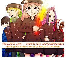 HAPPY ALMOST DECADE PROJECT217! by thestarsamurai