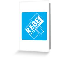 Electronic Rebellion Greeting Card