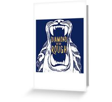 Aladdin 'Diamond in the Rough'  Greeting Card