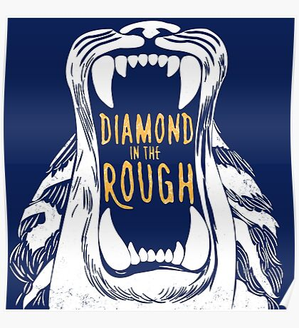Aladdin 'Diamond in the Rough'  Poster