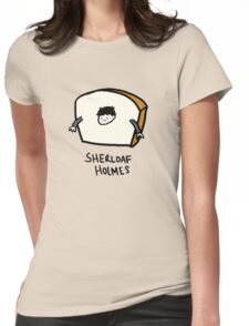Sherloaf Holmes Womens Fitted T-Shirt