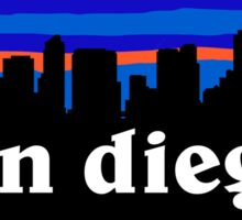 San Diego California - Awesome cities collection Sticker