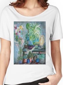 Table of a Plant Lover Women's Relaxed Fit T-Shirt