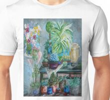 Table of a Plant Lover Unisex T-Shirt